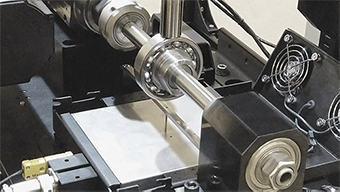 Bearing test using block-on-ring tribometer