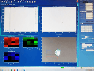 Raman data from integrated microscope using Rtec tribometer MFT-5000