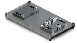 Reciprocating universal sample holder for tribometer