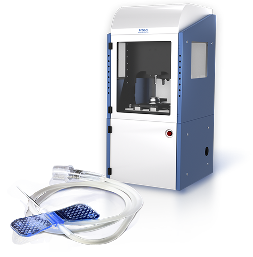 Universal tribometer MFT-5000 Catheter Friction Testing by Rtec Instruments