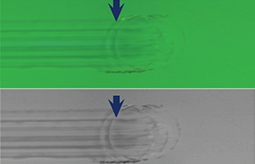 Hertzian cracks wear resistance confocal and bright imaging by Rtec Instruments